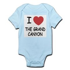 I heart the grand canyon Infant Bodysuit