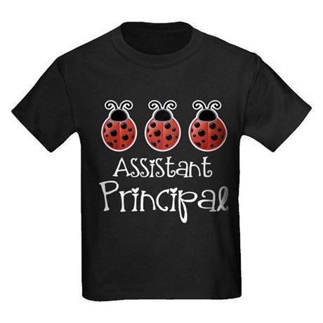 Assistant Principal Gift Kids Dark T-Shirt