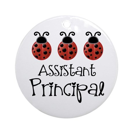 Assistant Principal Gift Ornament (Round)