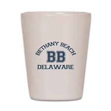 Bethany Beach - Varsity Design Shot Glass