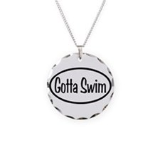 Swim Oval Necklace