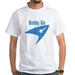 Boldly Go White T-Shirt