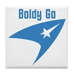 Boldly Go Tile Coaster