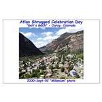 Atlas Shrugged Celebration Day Large Poster