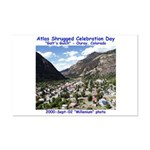 Atlas Shrugged Celebration Day Mini Poster Print