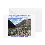 Atlas Shrugged Celebration Day Greeting Card