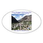 Atlas Shrugged Celebration Day Sticker (Oval 50 pk