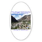 Atlas Shrugged Celebration Day Sticker (Oval 10 pk