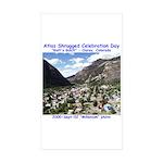 Atlas Shrugged Celebration Day Rectangle Sticker