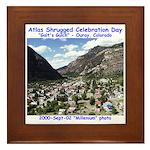 Atlas Shrugged Celebration Day Framed Tile