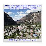 Atlas Shrugged Celebration Day Tile Coaster