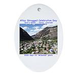 Atlas Shrugged Celebration Day Oval Ornament
