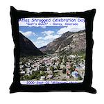 Atlas Shrugged Celebration Day Throw Pillow