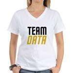 Team Data Women's V-Neck T-Shirt