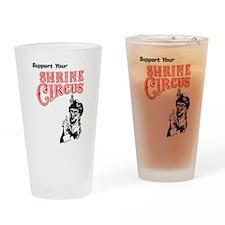 Shrine Circus Clown Drinking Glass