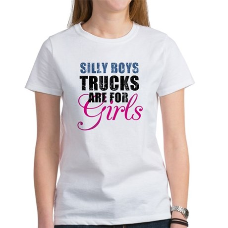 Silly Boys - Trucks Women's T-Shirt