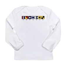 Topsail Beach Long Sleeve Infant T-Shirt