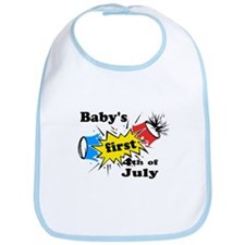 Baby's First 4th of July Bib