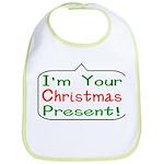 I'm Your Christmas Present Gi Bib