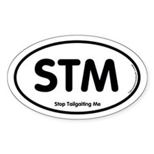 STM Oval Decal