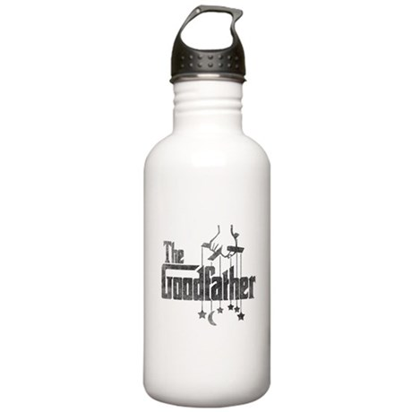 The Goodfather Stainless Water Bottle 1.0L
