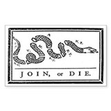 Join, or Die Bumper