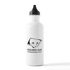 Ceiling Cat Water Bottle