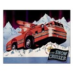 Snow Cruiser Small Poster