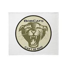 Bobcats Throw Blanket
