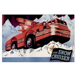 Snow Cruiser Large Poster