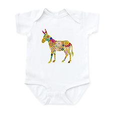 Flower Donkey - Infant Bodysuit
