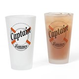 Captain Jimmy Pint Glass
