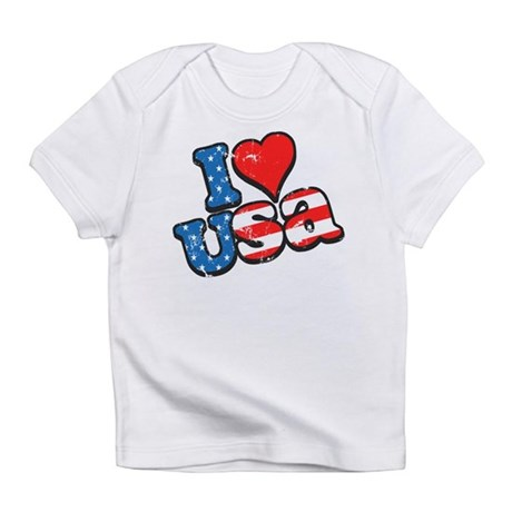 I Love USA Infant T-Shirt
