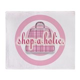 Shop-a-holic Throw Blanket