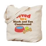 Black and Tan Coonhound Dog Gift Tote Bag