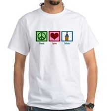 Peace Love Debate Shirt