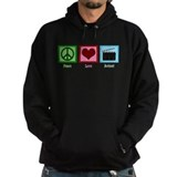 Peace Love Action! Hoodie