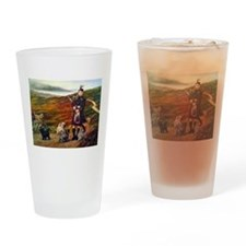 Cathie Helf Cairn Terriers Drinking Glass