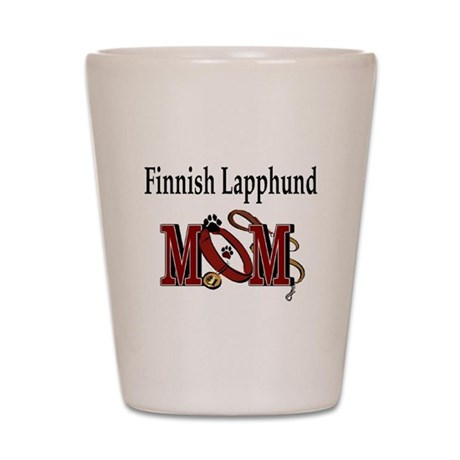 Finnish Lapphund Shot Glass