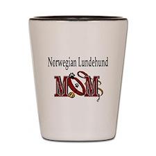 Norwegian Lundehund Shot Glass