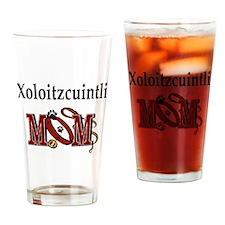 Xoloitzcuintli Mom Pint Glass