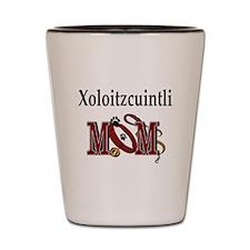 Xoloitzcuintli Mom Shot Glass