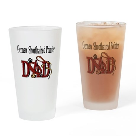 German Shorthaired Pointer Pint Glass