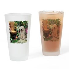 Old English Sheepdog Pint Glass
