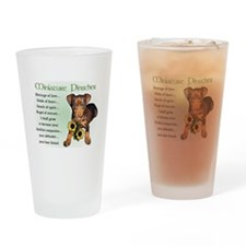 Miniature Pinscher Pint Glass