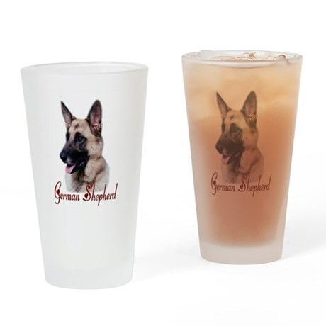 German Shepherd Pint Glass