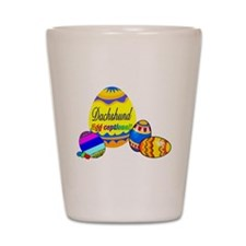 Easter Dachshund Shot Glass