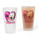 Westie Valentines Day Pint Glass