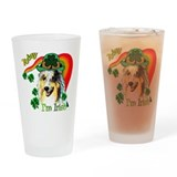 St Patricks Sheltie Pint Glass