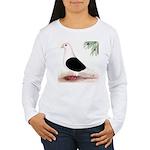Saddle Homing Pigeon Women's Long Sleeve T-Shirt